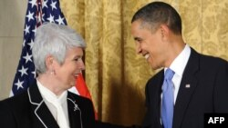 Susret premijerke Hrvatske Jadranke Kosor i predsjednika SAD, Baracka Obame, 08. travanj 2010.