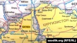 Сўх Ўзбекистонга нисбатан эксклав, Қирғизистонга нисбатан анклав ҳисобланади.