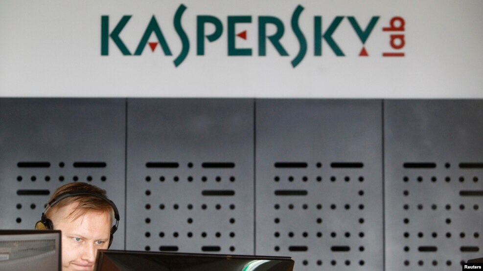 An employee works in the virus lab at the headquarters of Russian cybersecurity company Kaspersky Lab in Moscow. (file photo)