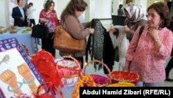 """جانب من فعاليات اليوم الثاني من مؤتمر """"أوضاع المرأة"""" في أربيل"""