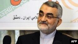علاء الدین بروجردی، رییس کمیسیون امنیت ملی و سیاست خارجی مجلس ایران