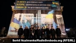 Киевта узган чарада Рефат Чубаров, Ахтем Чийгоз, Рәфис Кашапов катнашты