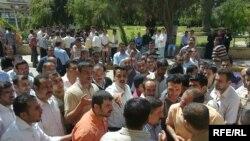 تظاهرة في الموصل للمطالبة بعمل
