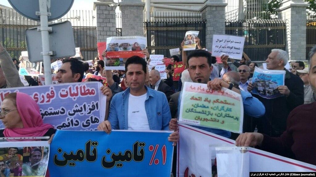 قرار وثیقه و قرار بازداشت مجدد برای شماری از بازداشتشدگان روز کارگر