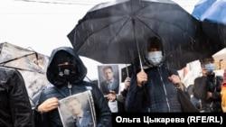 Шествие в поддержку Сергея Фургала. Хабаровск