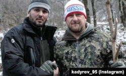 Рамзан Кадыров (справа) и Алихан Даудов