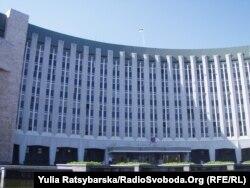 Будівля Дніпропетровської міської ради, де донедавна розміщувалася міська виборча комісія