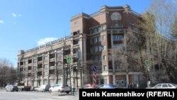 """Гостиница """"Мадрид"""". Памятник конструктивизма. Архитекторы В.В. Безруков, П.В. Оранский и Б. Шефлер"""