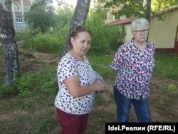 Экс-депутат Госсовета Чувашии Тамара Романова (слева).