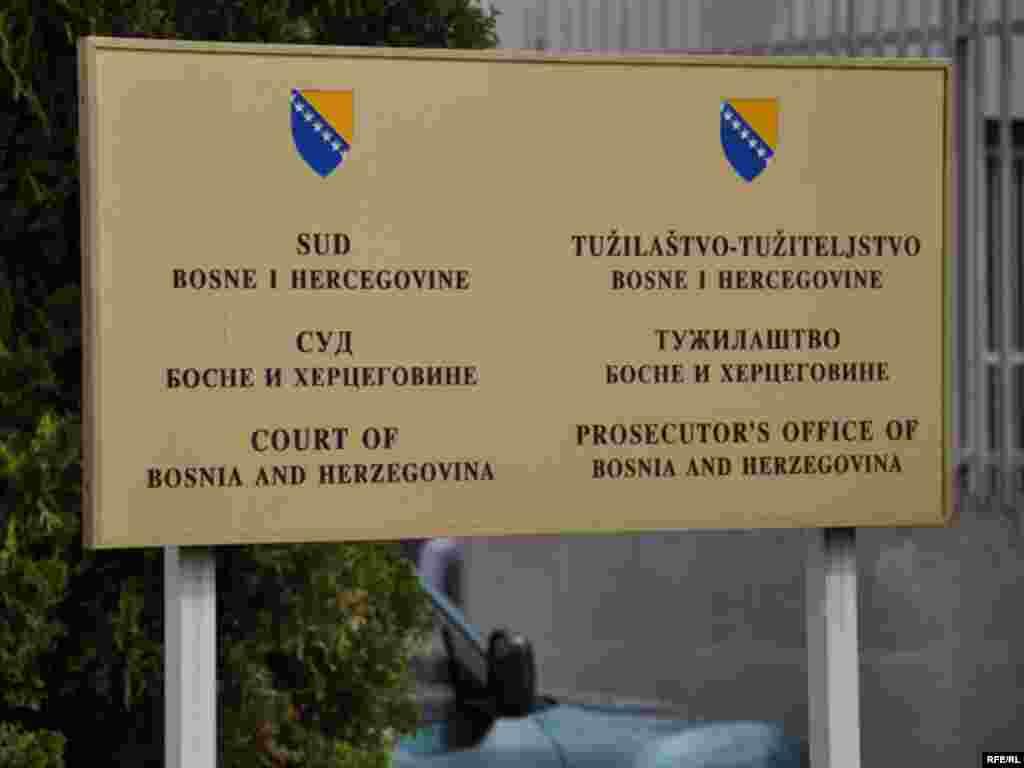 Sud i Tužilaštvo Bosne i Hercegovine