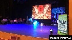 III халыкара Босфор фестиваленең бүләкләү тантанасы сәхнәсе