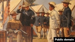 Василий Верещагин (1842-1904). Шпион. Эпизод испано-американской войны. 1901. Львовская национальная галерея искусств