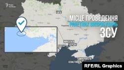 Ուկրաինա - Զորավարժությունների անցկացման վայրը քարտեզի վրա