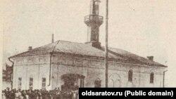 Сарытауда бу урында мәчет 1894 елда төзелгән булган