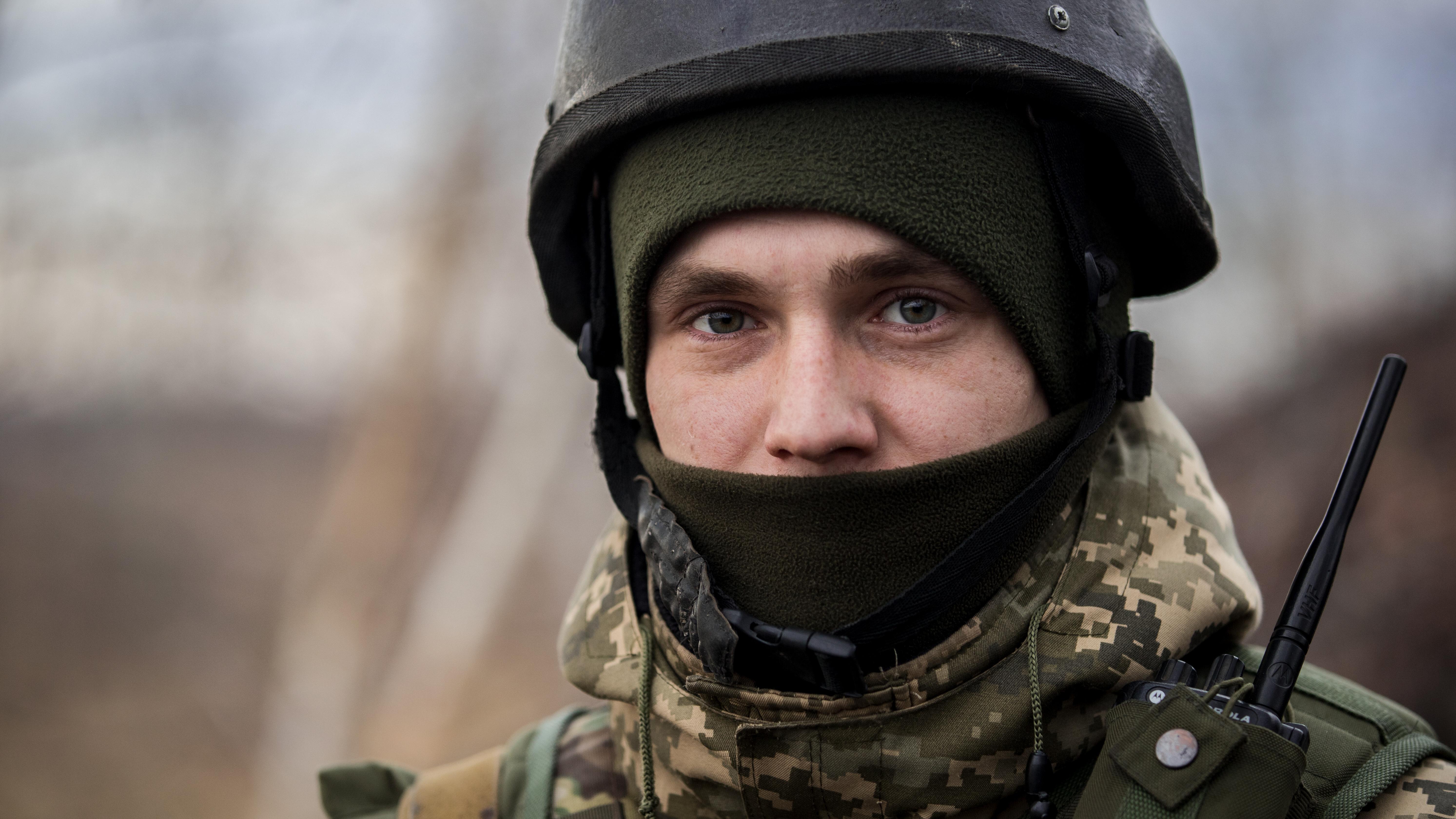 Украинский воин картинка