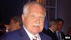 Presidenti çek Vaclav Klaus