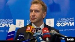 Ресейдің бірінші вице-премьері Игорь Шувалов. Иркутск, 9 қыркүйек 2008 жыл.