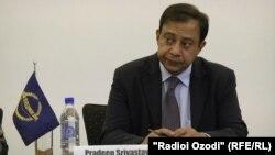 Постоянный представитель АБР в Таджикистане Прадип Сривастава