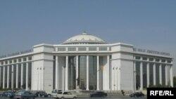 Türkmenistanyň Adalat köşgi.