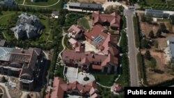Дом, который, по заявлению ФБК, принадлежит Саблину