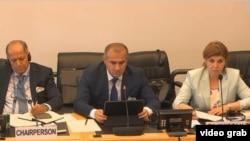 Делегация Таджикистана на сессии Комитета ООН по правам человека, Женева, 2 июля 2019 года