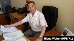 Председатель городского Совета ветеранов Бирликбай Ордабаев. Темиртау, 15 июня 2018 года.