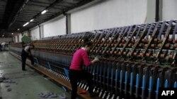 Fabrikë tekstili në Kosovë