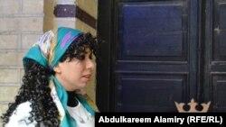 """الفنانة أسل غازي في مسرحية """"عودة السلام"""""""