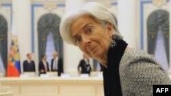 Шефицата на ММФ Кристин Лагард.