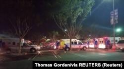 Бар Borderline Bar & Grill в городе Таузанд-Окс в 60 километрах от центра Лос-Анджелеса, где произошла стрельба