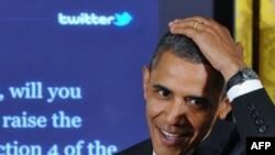 Обама дар ҷараёни гуфтугӯ
