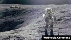Astronaut Charles Duke walked on the moon as part of Apollo 16 in April 1972.