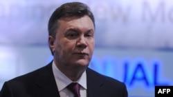 Віктор Янукович у Давосі, січень 2012 року