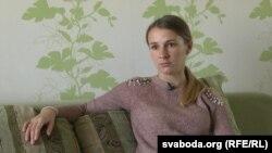 """Натальля, былая кліентка шэлтару """"Радзіслава"""""""