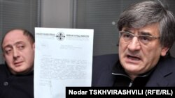 Президент федерации футбола Грузии Звиад Сичинава