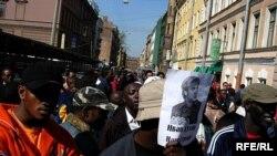 Первомайский протест в Петербурге прошел без особых осложнений