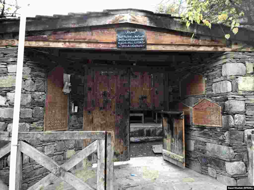 Many Kalash villages have a shack known as a Bashalini (pictured) where menstruating women are banished until the end of their period. The building is also where women go to give birth.