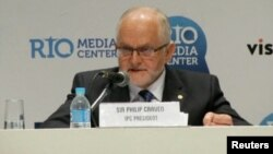International Paralympic Committee President Philip Craven