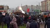 Belarus - Anti-Lukashenko's marsh in Minsk