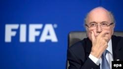 FIFA-ს ყოფილი პრეზიდენტი ზეპ ბლატერი. 2015 წ. ფოტო.