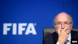 ФИФА-ның уақытша президенті Йозеф Блаттер.