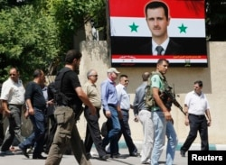 Сирияға химиялық шабуыл туралы хабарды тексеруге БҰҰ жіберген инспекторлар. Дамаск, 30 тамыз 2013 жыл.
