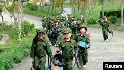 Атлас мира: китайские дети