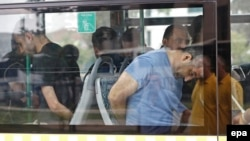 Uhapšeni pučisti, Istanbul, 20. jul 2016.