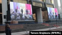 Igor Dodon și ai săi: imagini de la învestirea populară a unui președinte