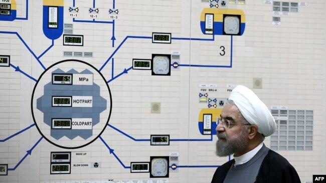 Iranski predsjednik Hasan Rohani u nuklearnoj elektrani u Bušeru