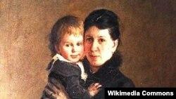 Sofiya Tolstaya qızı Aleksandra Tolstaya ilə