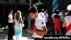 Ученики одной из школ в Ташкенте, архивное фото.