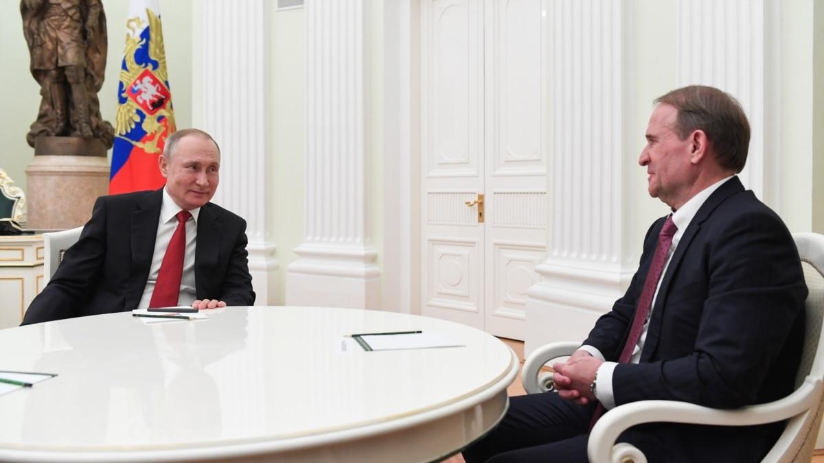 Делегация ОПЗЖ встретилась с депутатами Госдумы России, Медведчук поговорил с Путиным