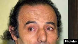 Armenia -- Murad Bojolian, a scholar and former government official, pictured during his trial in 2002.